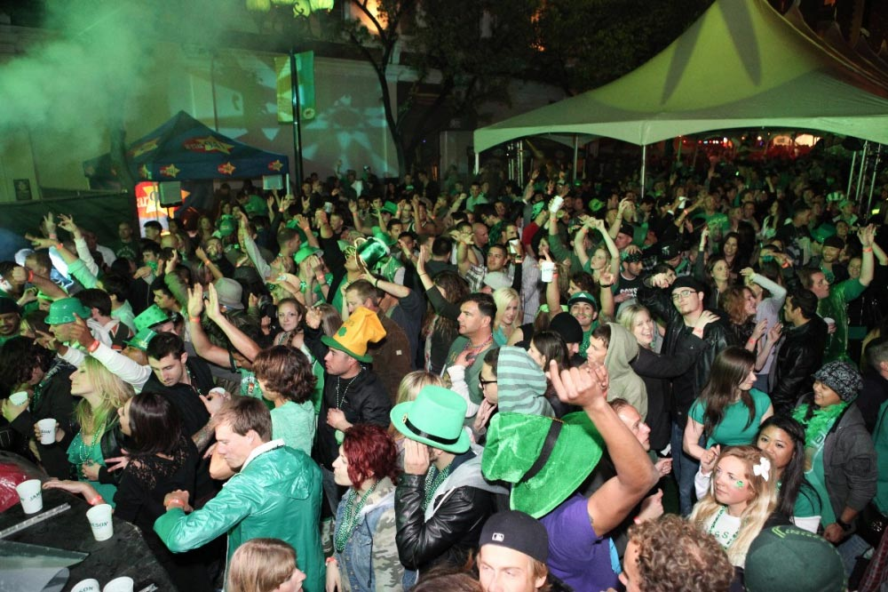 St. Patrick's Day in San Diego