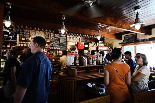 Crowded Coffee House