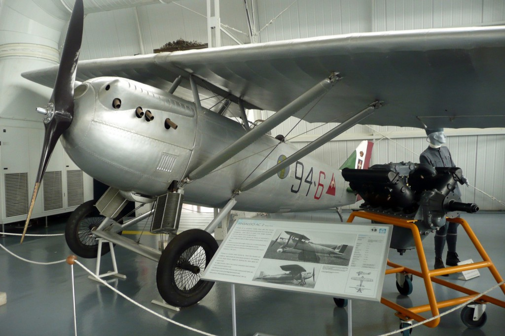 airplane in museum